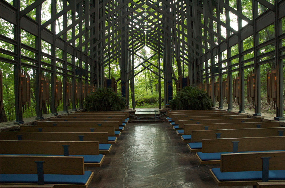 Thorncrown Chapel By E. Fay Jones