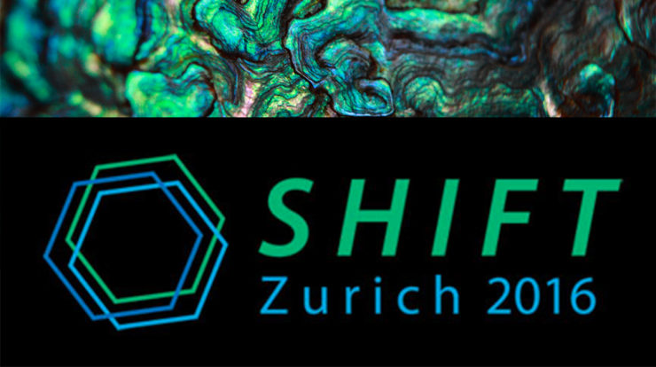 Chris Garvin at the SHIFT Zurich 2016 Summit